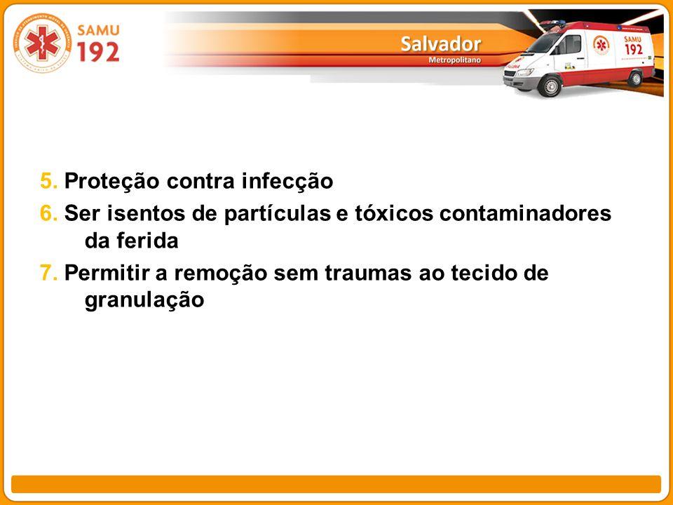5. Proteção contra infecção