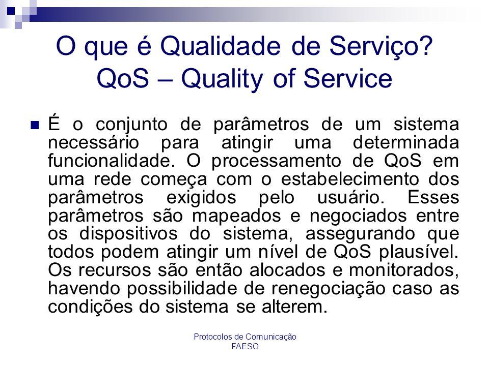 O que é Qualidade de Serviço QoS – Quality of Service