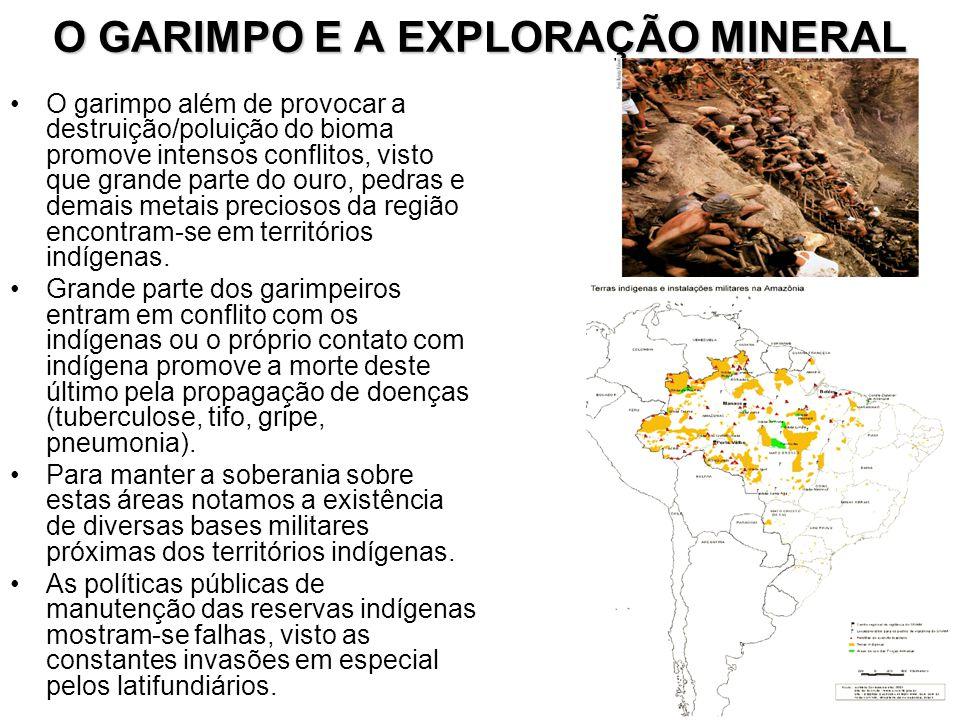 O GARIMPO E A EXPLORAÇÃO MINERAL
