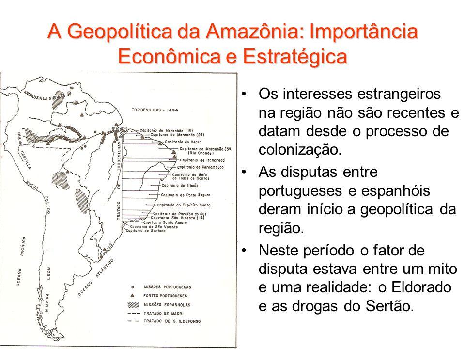 A Geopolítica da Amazônia: Importância Econômica e Estratégica