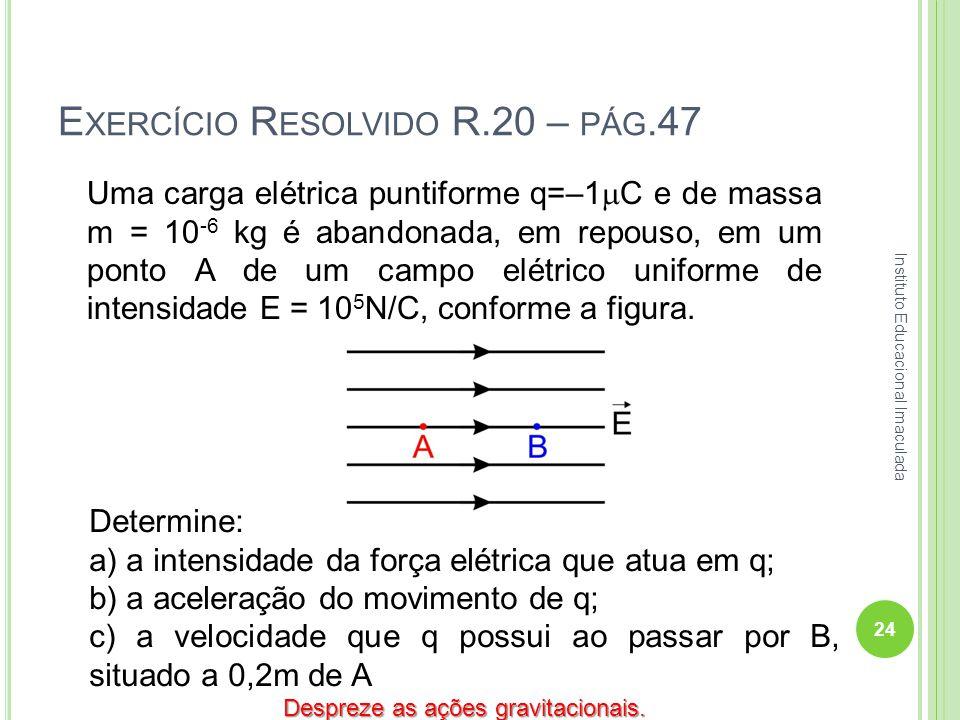 Exercício Resolvido R.20 – pág.47