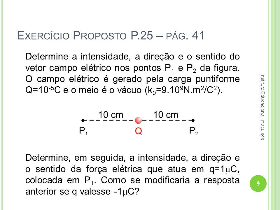 Exercício Proposto P.25 – pág. 41