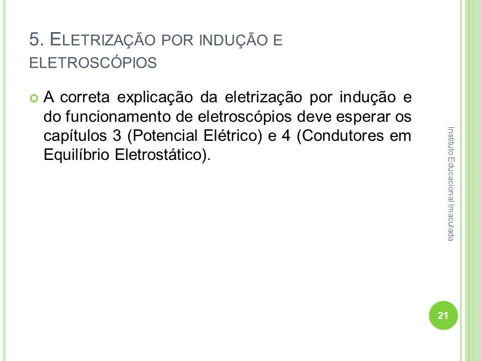 5. Eletrização por indução e eletroscópios