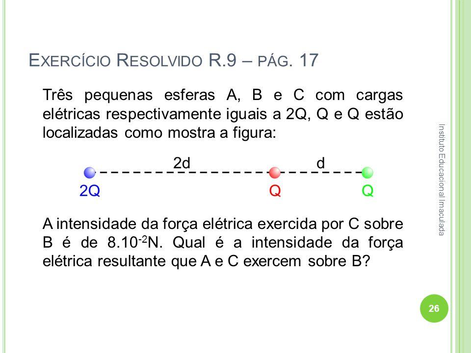 Exercício Resolvido R.9 – pág. 17