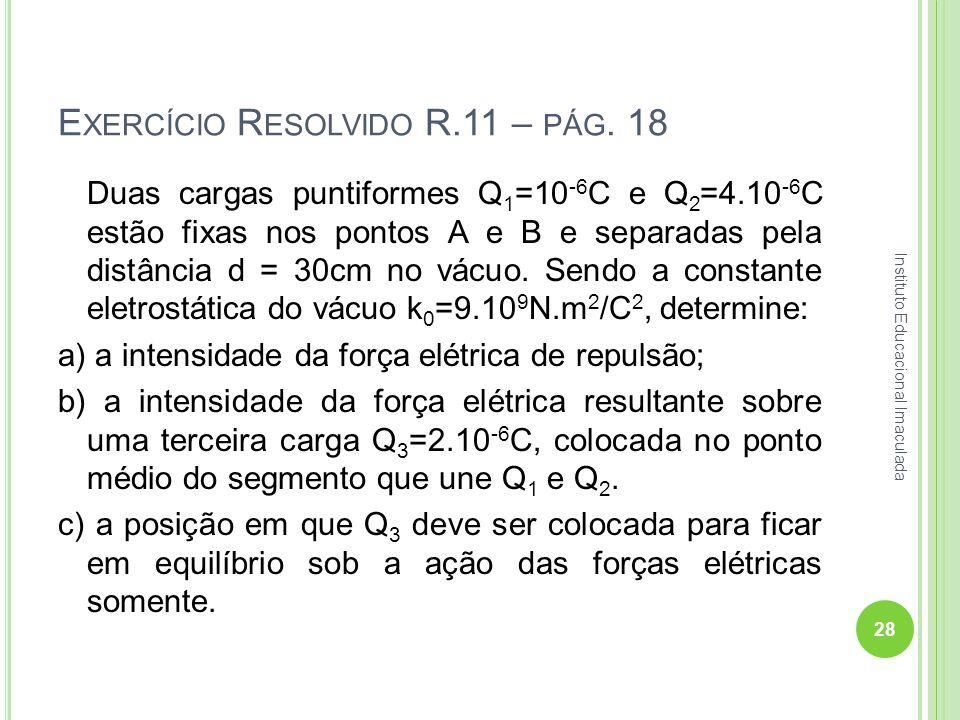 Exercício Resolvido R.11 – pág. 18