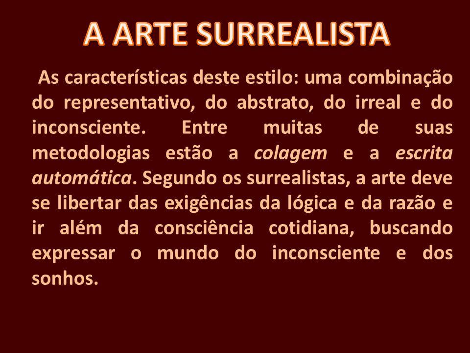 A ARTE SURREALISTA