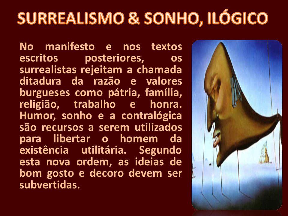 SURREALISMO & SONHO, ILÓGICO