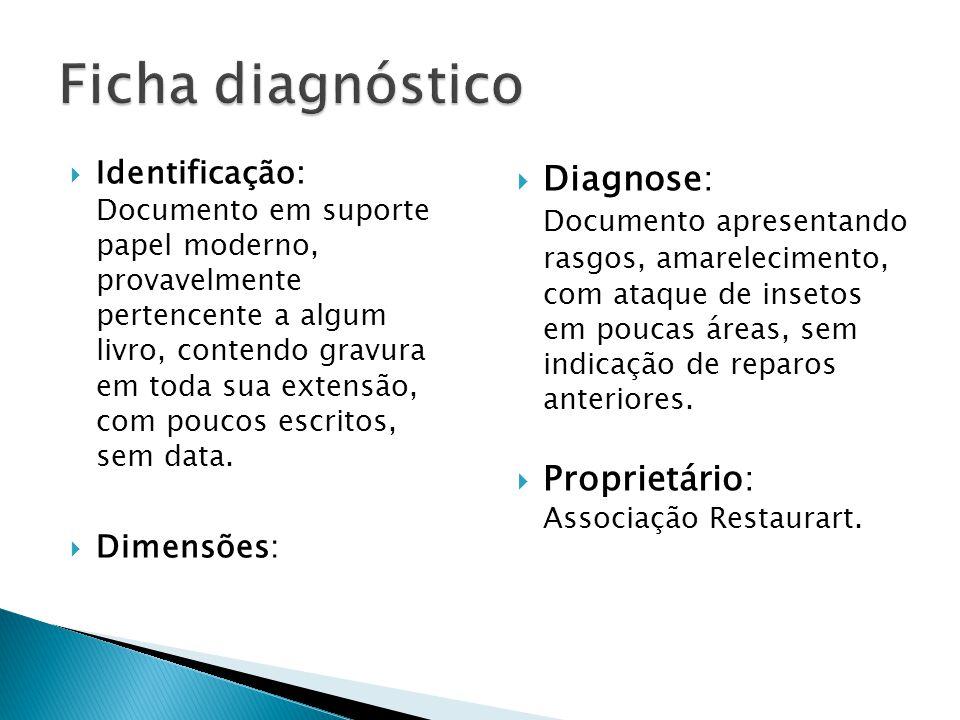 Ficha diagnóstico Diagnose: