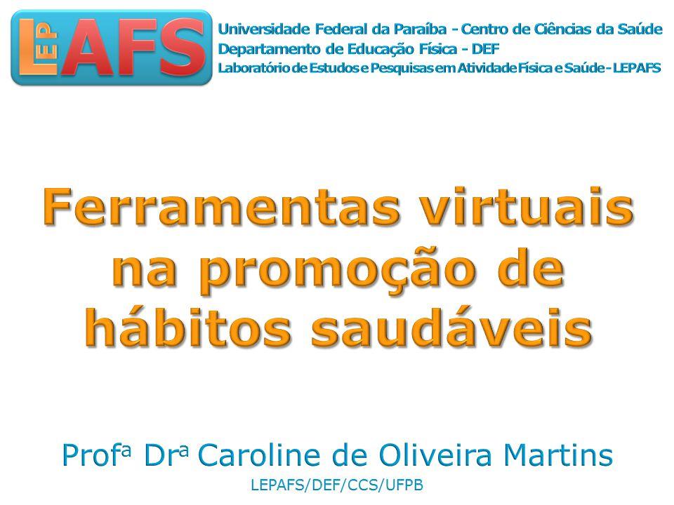 Ferramentas virtuais na promoção de hábitos saudáveis