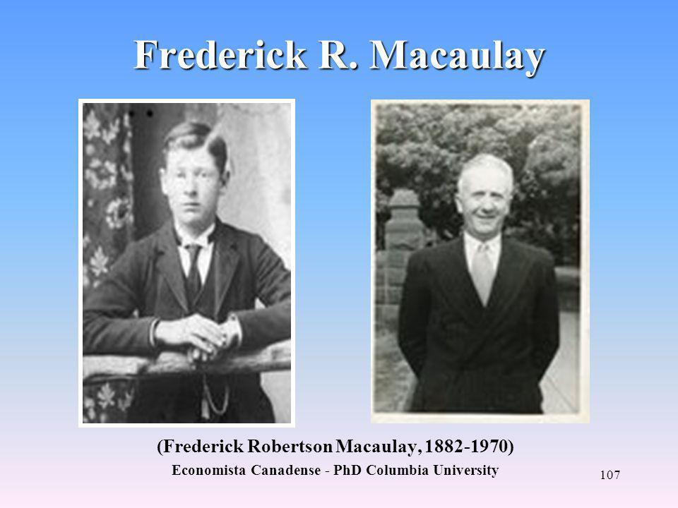 Frederick R. Macaulay (Frederick Robertson Macaulay, 1882-1970)