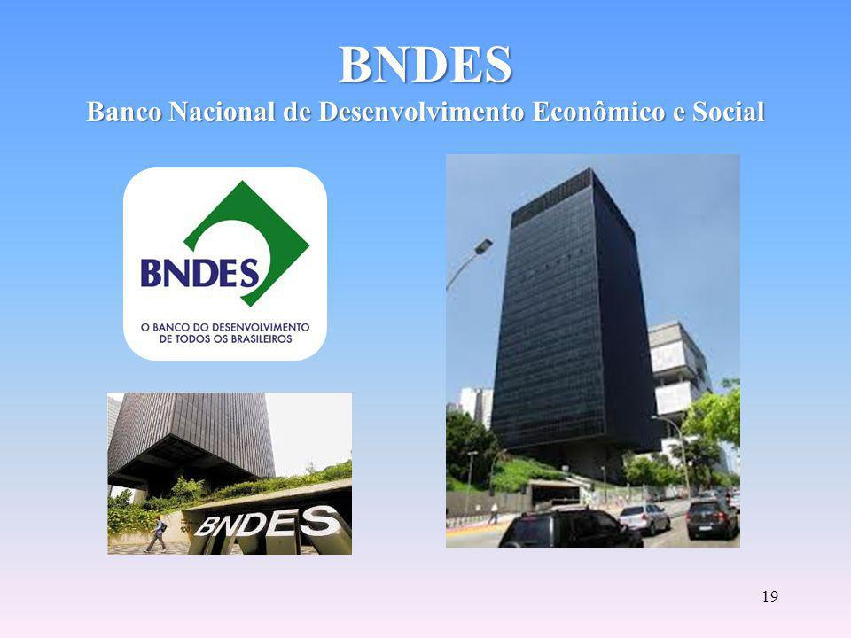 BNDES Banco Nacional de Desenvolvimento Econômico e Social