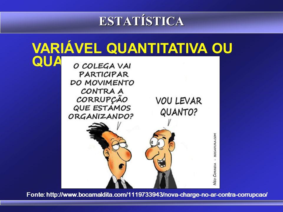 VariáveL quantitativa ou qualitativa
