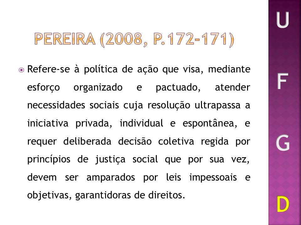U F G D Pereira (2008, p.172-171)