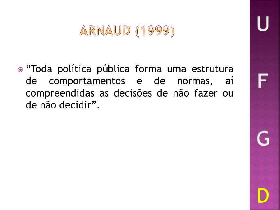 U F G D ARNAUD (1999)