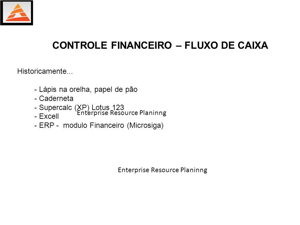 CONTROLE FINANCEIRO – FLUXO DE CAIXA