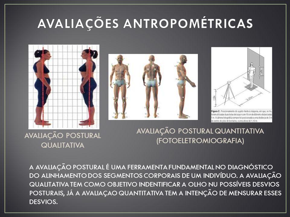 AVALIAÇÕES ANTROPOMÉTRICAS