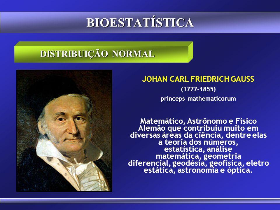 JOHAN CARL FRIEDRICH GAUSS princeps mathematicorum