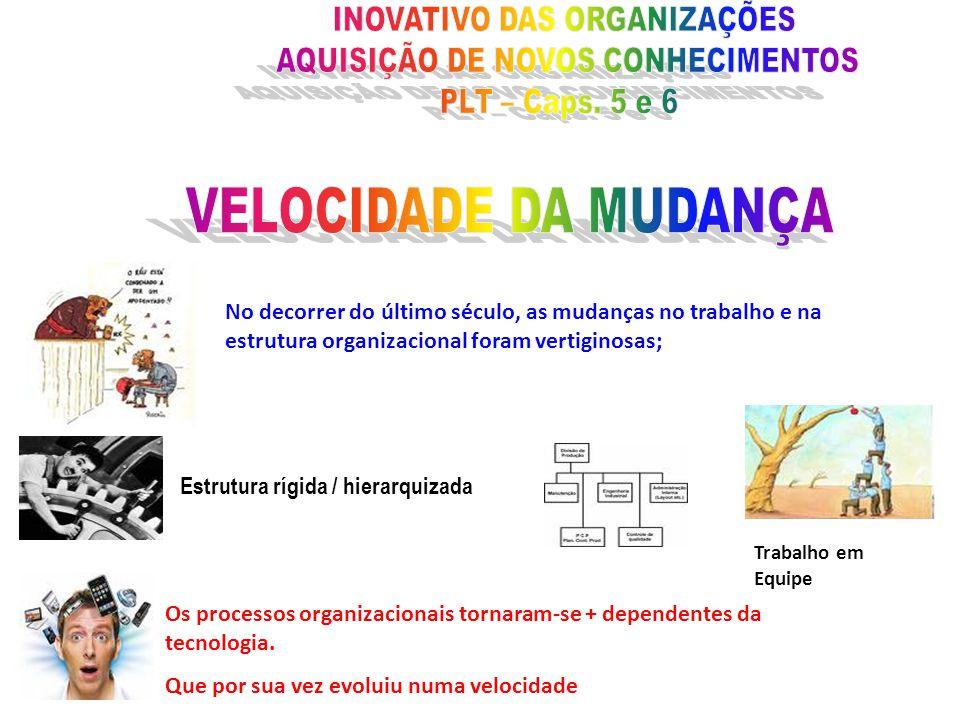 INOVATIVO DAS ORGANIZAÇÕES AQUISIÇÃO DE NOVOS CONHECIMENTOS
