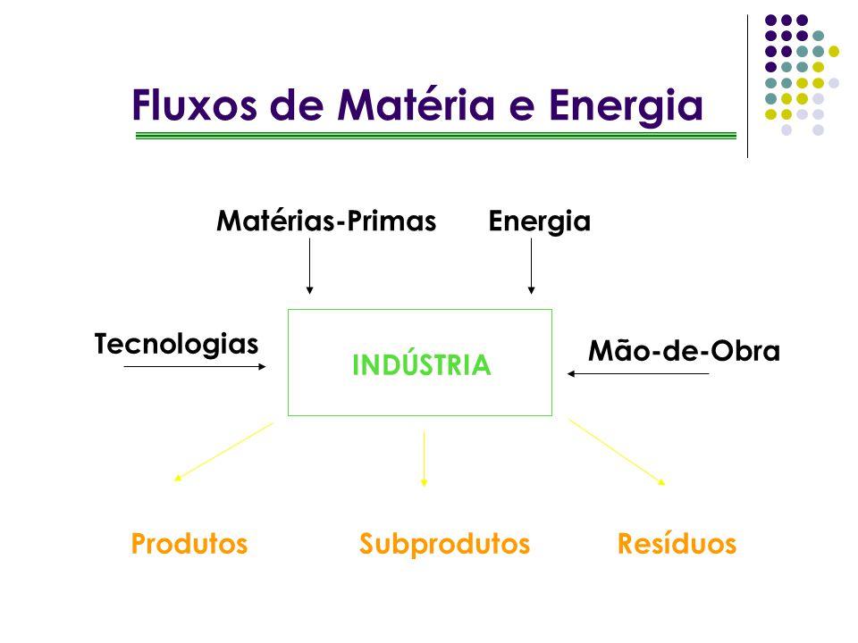 Fluxos de Matéria e Energia