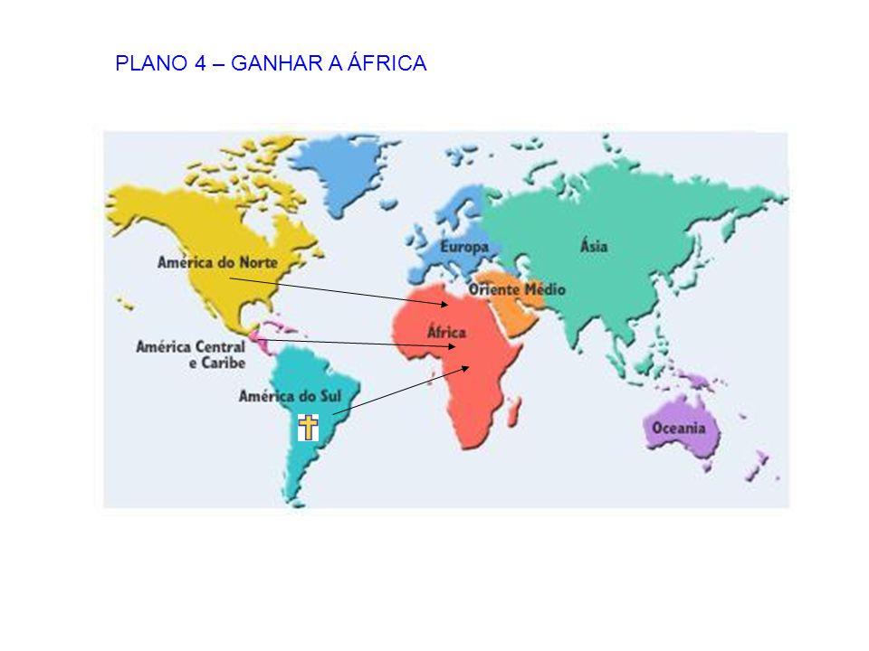 PLANO 4 – GANHAR A ÁFRICA