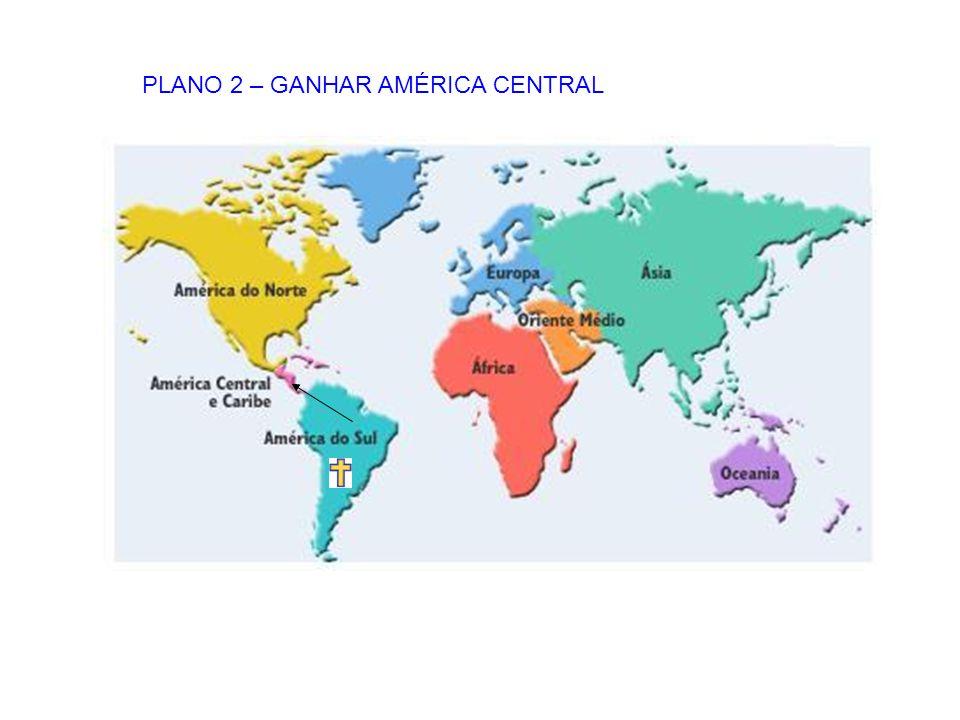 PLANO 2 – GANHAR AMÉRICA CENTRAL