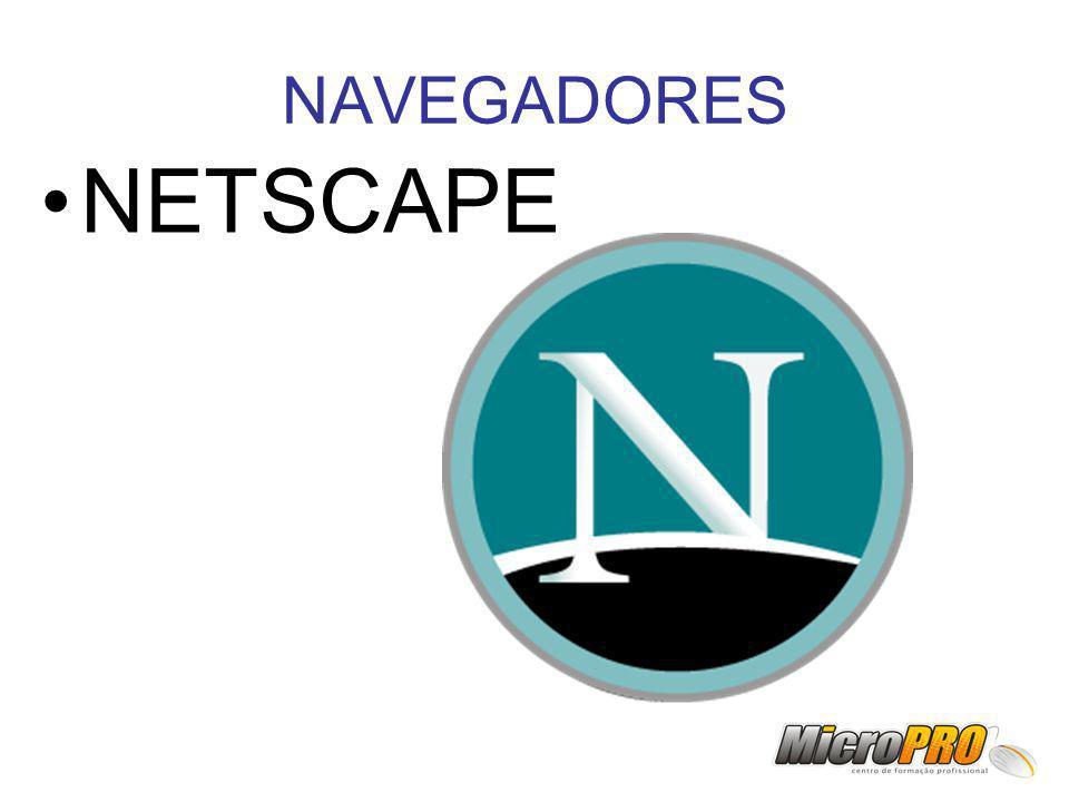 NAVEGADORES NETSCAPE
