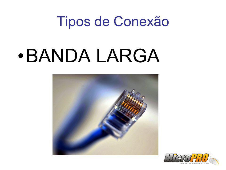 Tipos de Conexão BANDA LARGA
