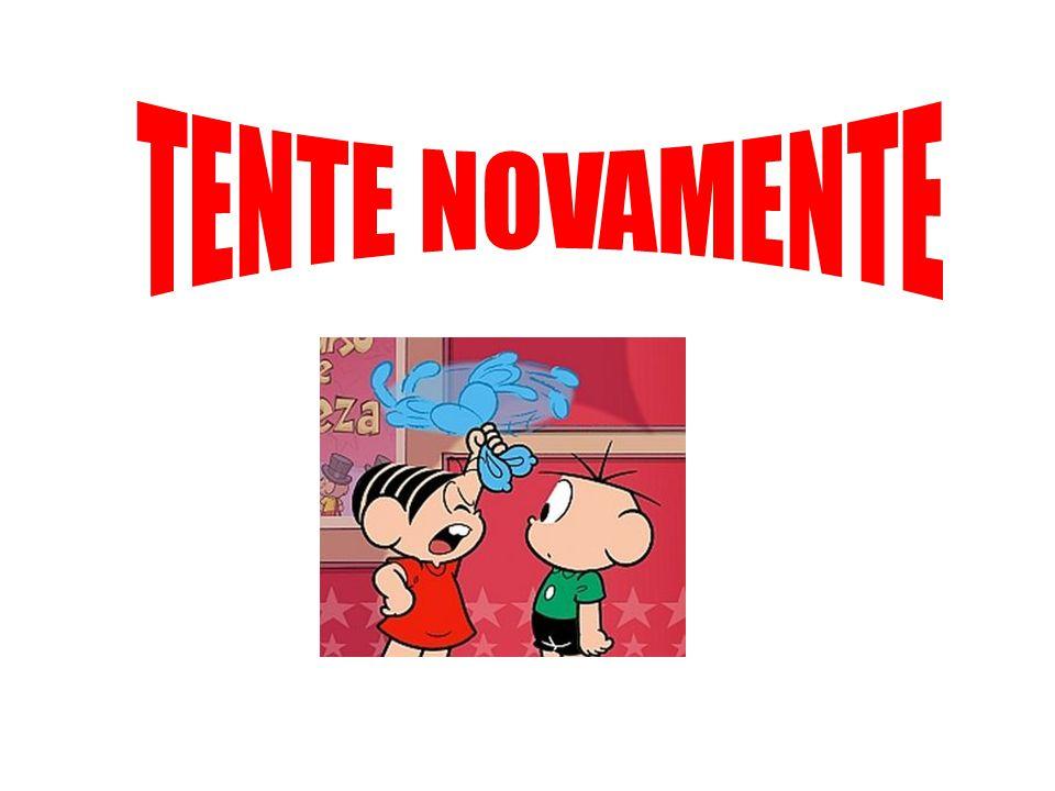 TENTE NOVAMENTE