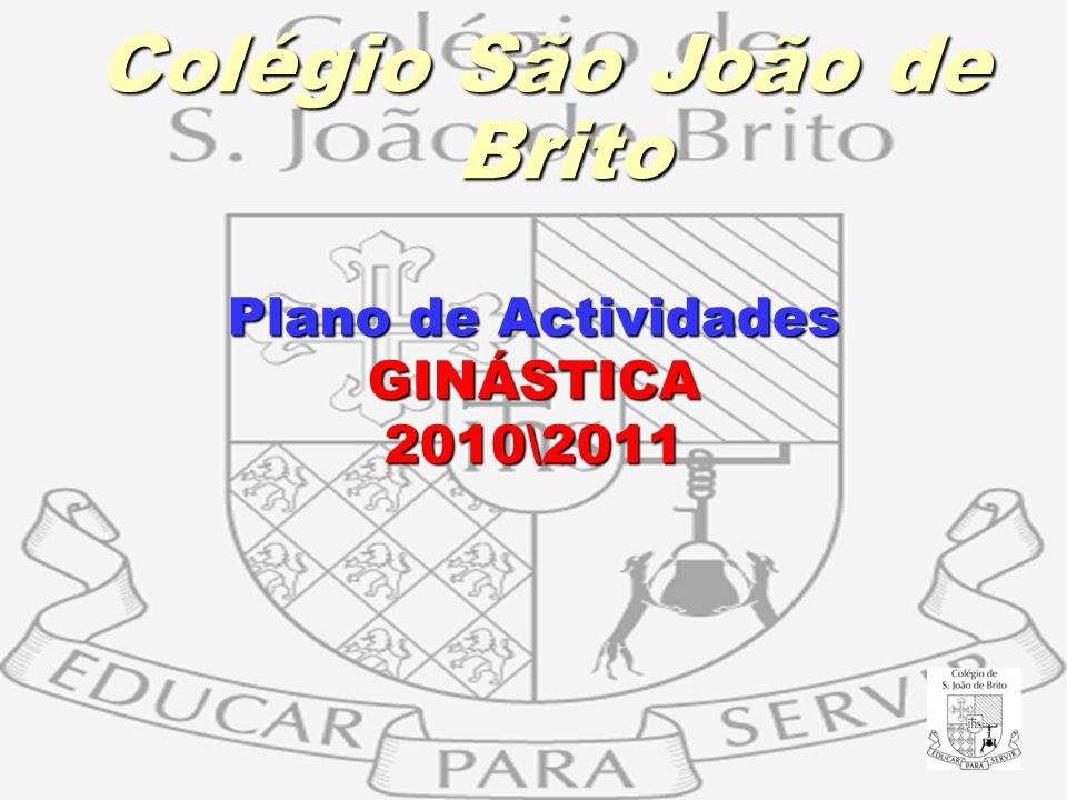 Plano de Actividades GINÁSTICA 2010\2011
