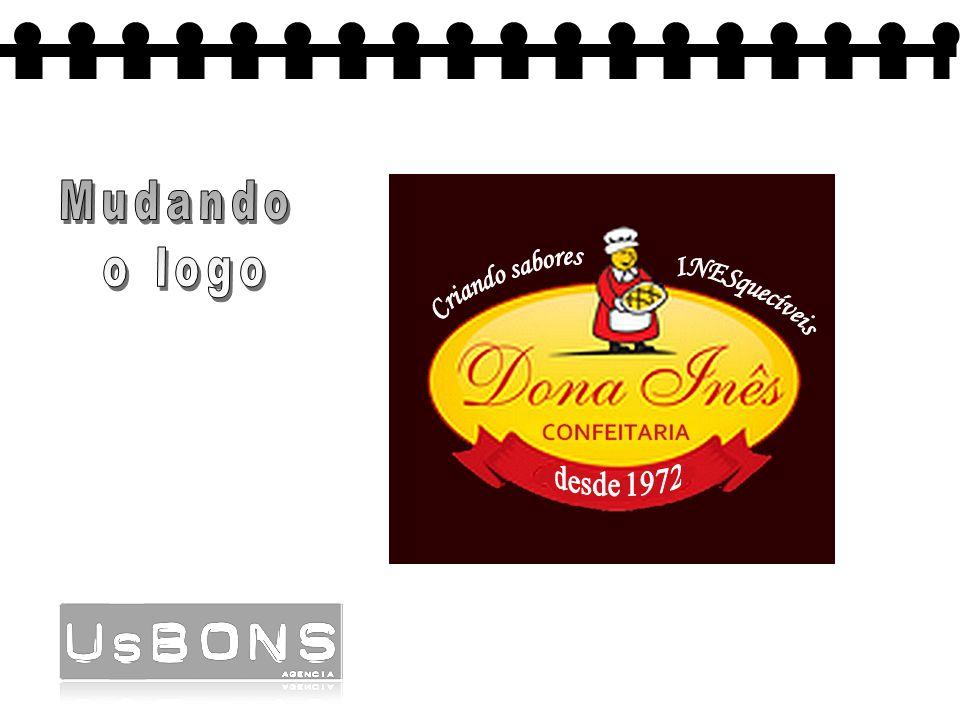 Mudando o logo Criando sabores INESquecíveis desde 1972