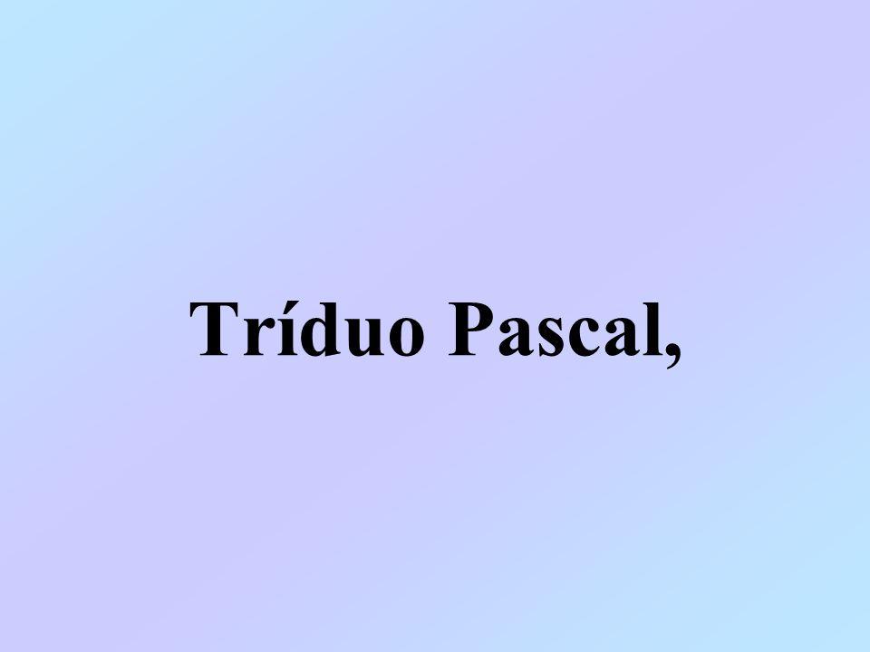 Tríduo Pascal,