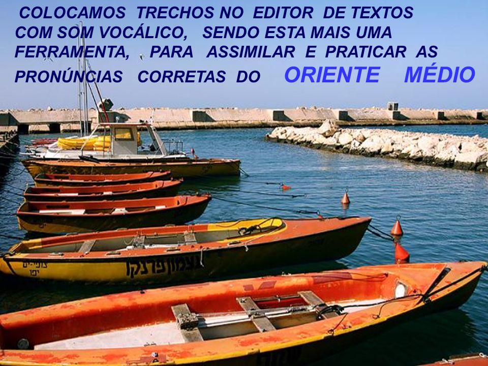 COLOCAMOS TRECHOS NO EDITOR DE TEXTOS