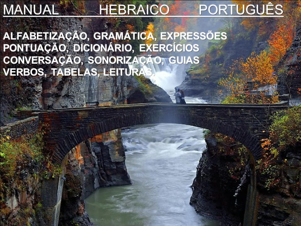MANUAL HEBRAICO PORTUGUÊS