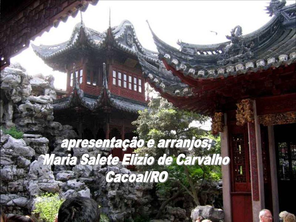 apresentação e arranjos; Maria Salete Elizio de Carvalho