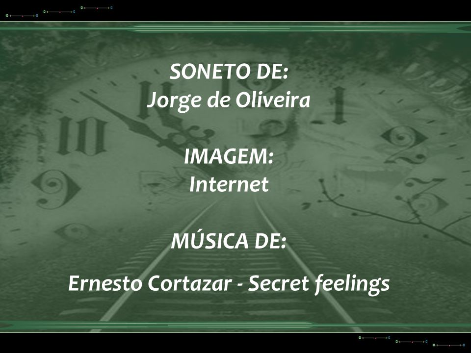 Ernesto Cortazar - Secret feelings