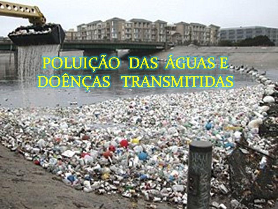 POLUIÇÃO DAS ÁGUAS E DOÊNÇAS TRANSMITIDAS