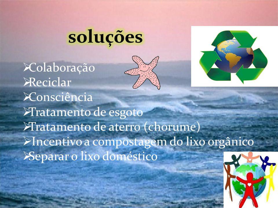 soluções Colaboração Reciclar Consciência Tratamento de esgoto