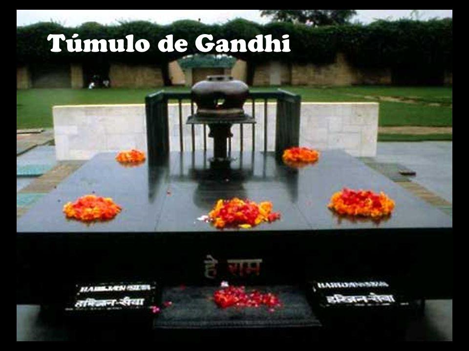 Túmulo de Gandhi