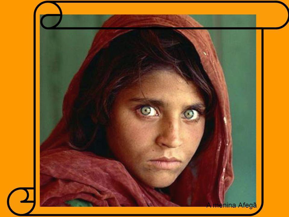 A menina Afegã A menina Afegã