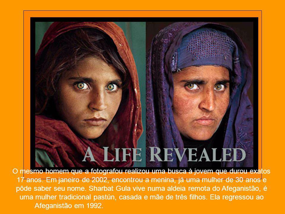O mesmo homem que a fotografou realizou uma busca à jovem que durou exatos 17 anos.