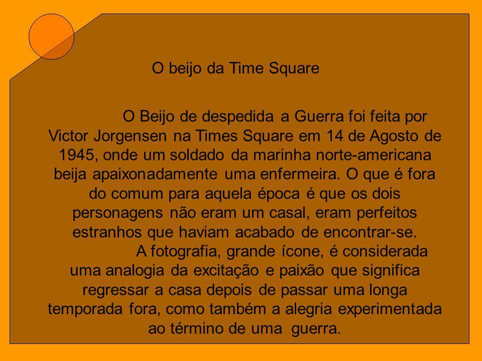 O beijo da Time Square