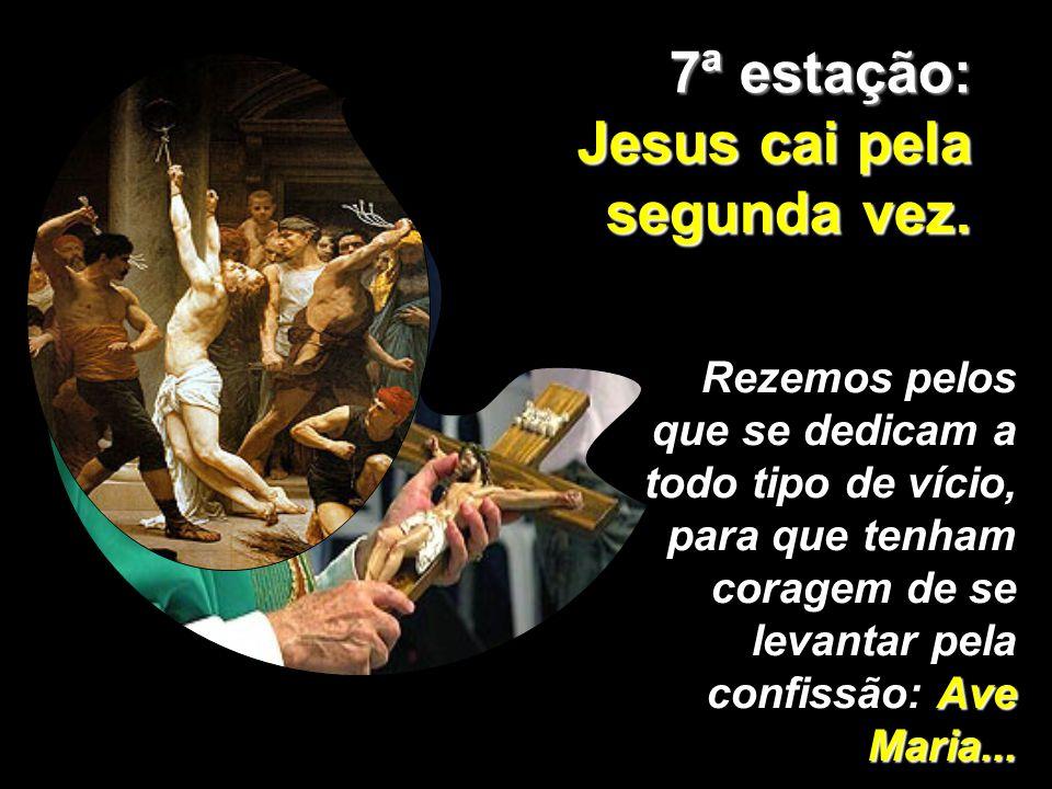 Jesus cai pela segunda vez.