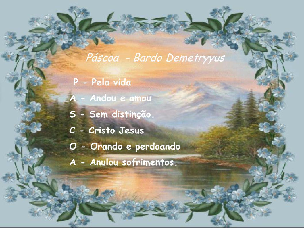 Páscoa - Bardo Demetryyus