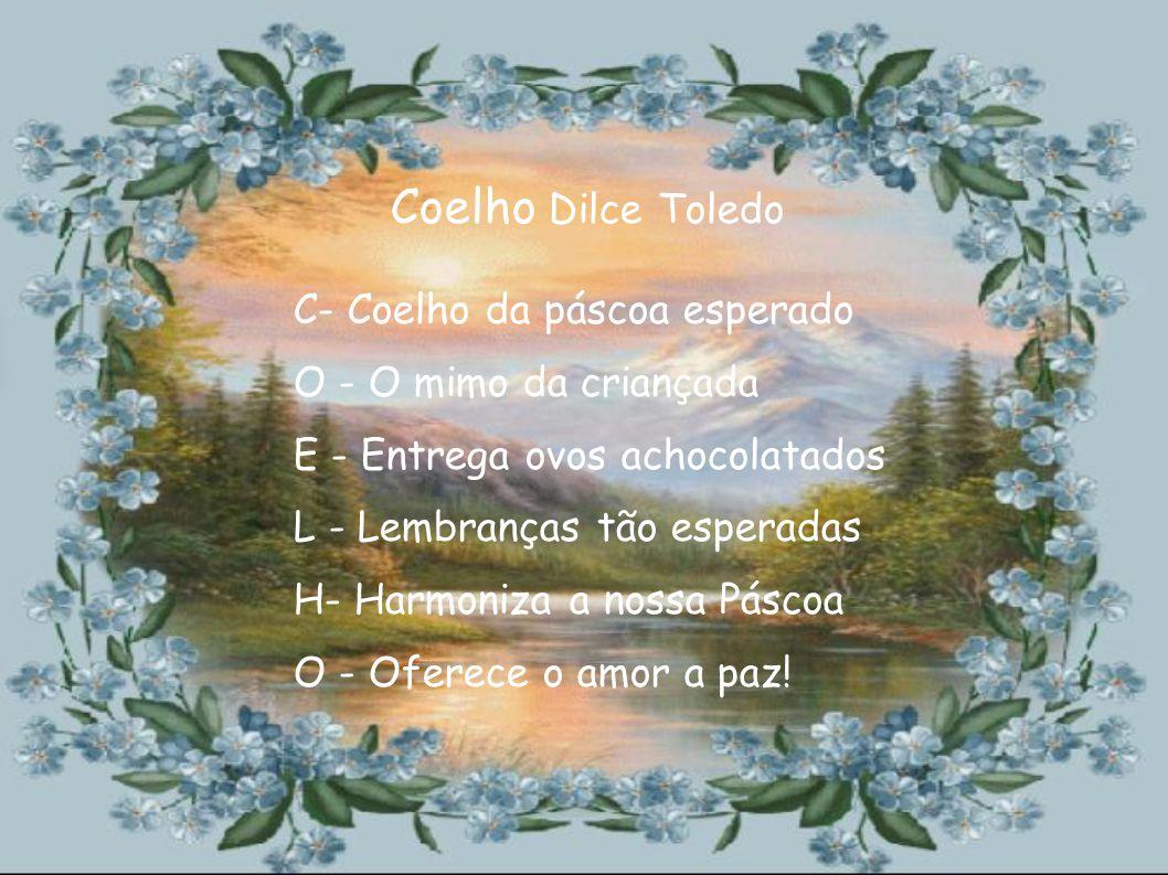 Coelho Dilce Toledo C- Coelho da páscoa esperado
