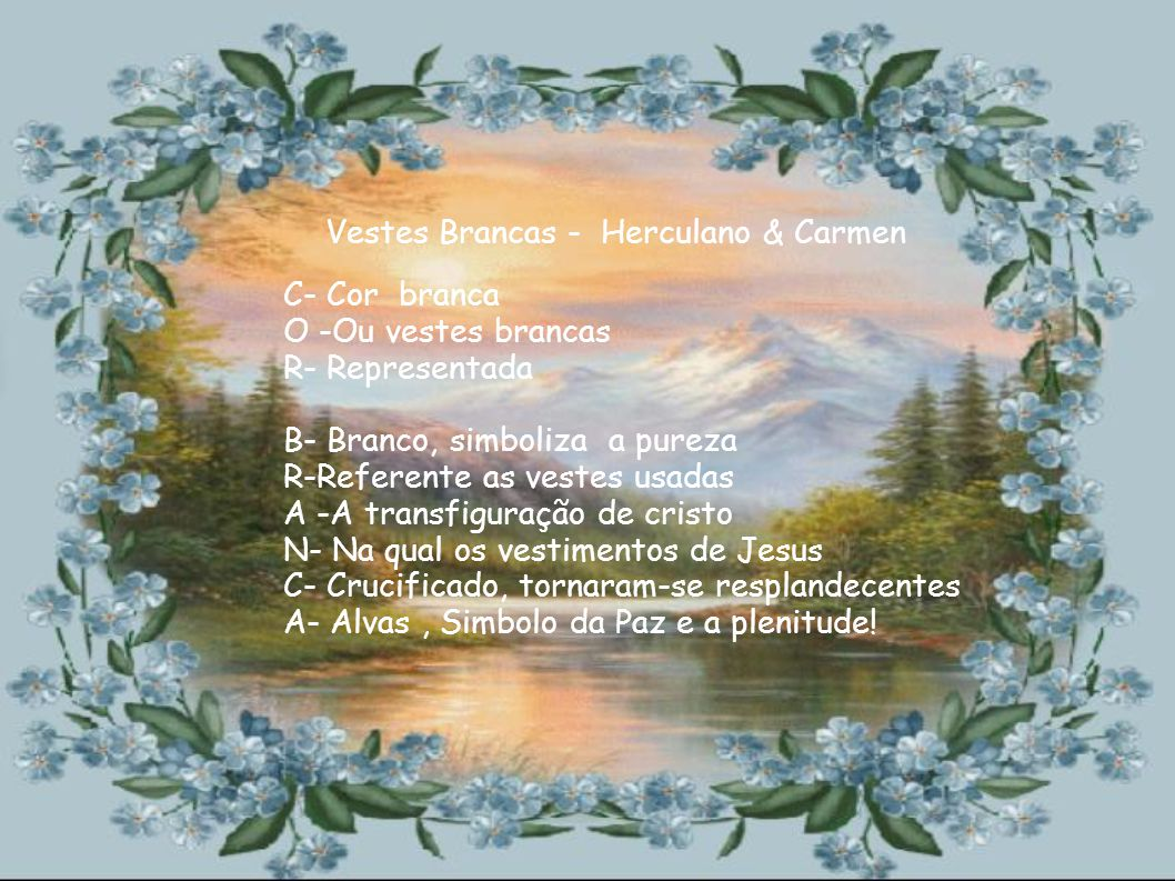 Vestes Brancas - Herculano & Carmen