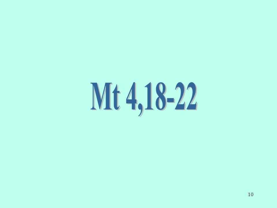 Mt 4,18-22