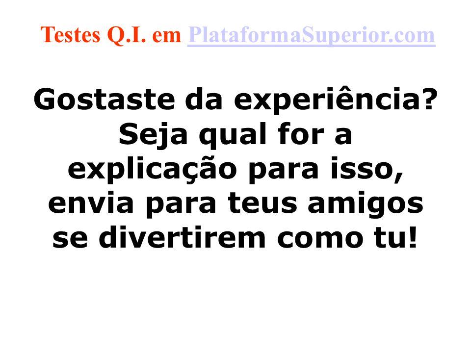 Testes Q.I. em PlataformaSuperior.com