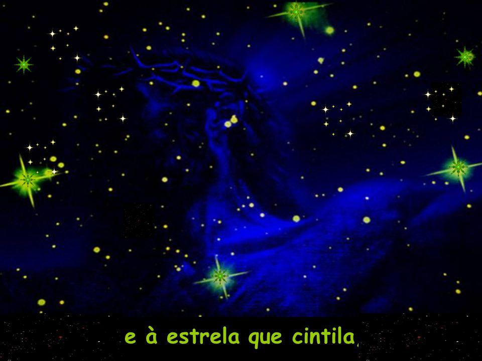 e à estrela que cintila,