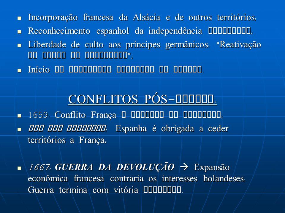 CONFLITOS PÓS-GUERRA: