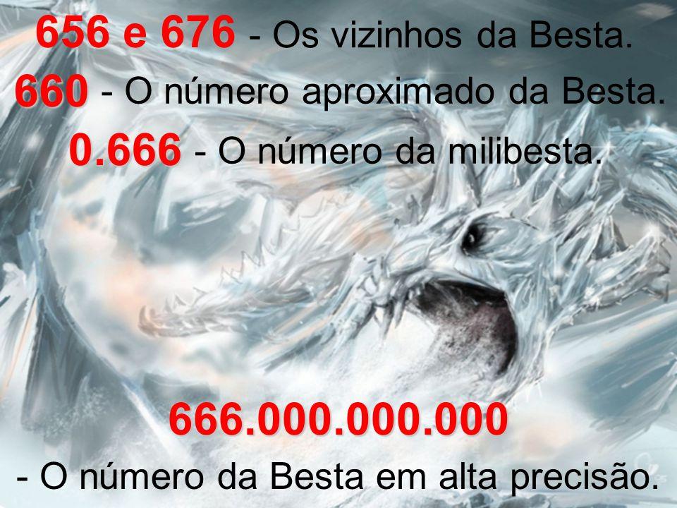 - O número da Besta em alta precisão.